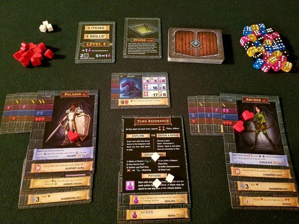 One Deck Dungeon gameplay