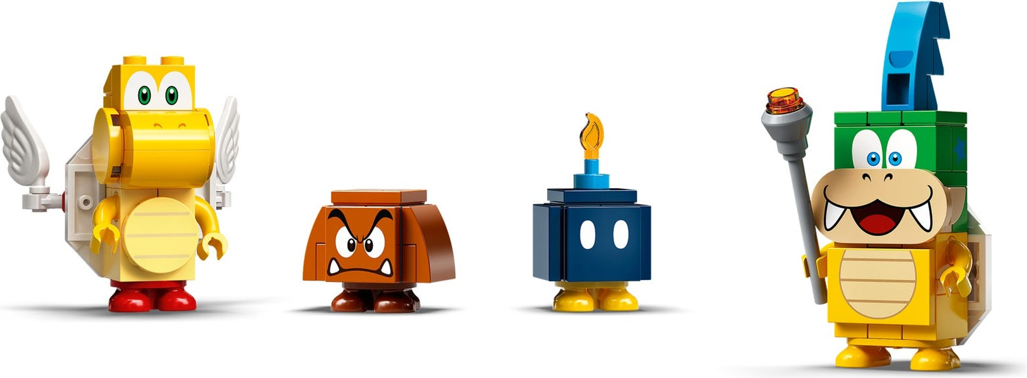 LEGO® Super Mario™ Master Your Adventure Maker Set minifigures