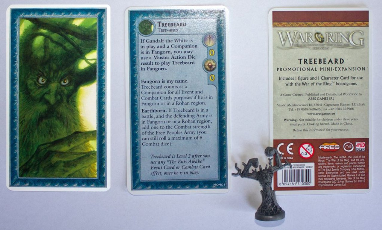 War of the Ring: Lords of Middle-earth components