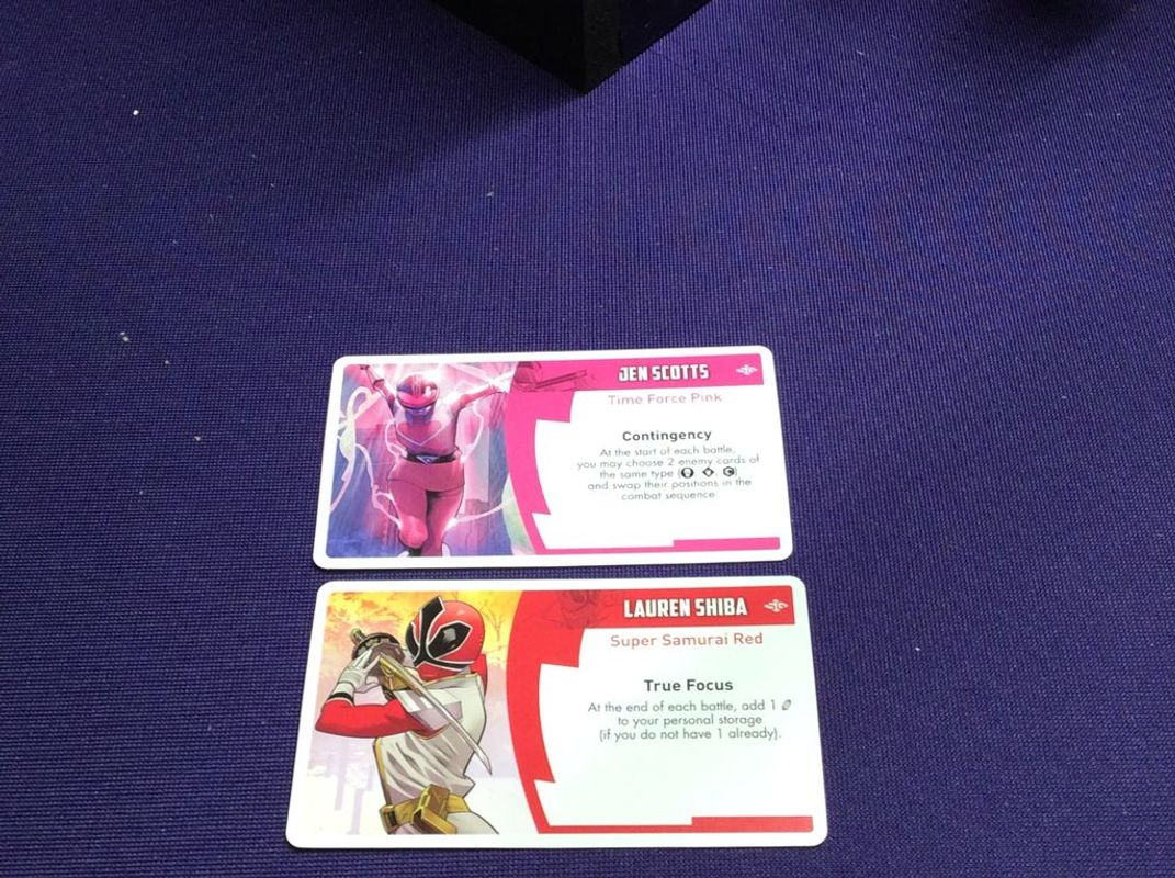 Power Rangers: Heroes of the Grid - Shattered Grid cards
