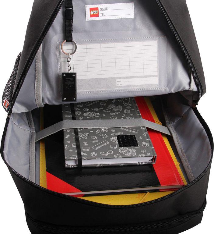 Minifigure Belight Backpack interior