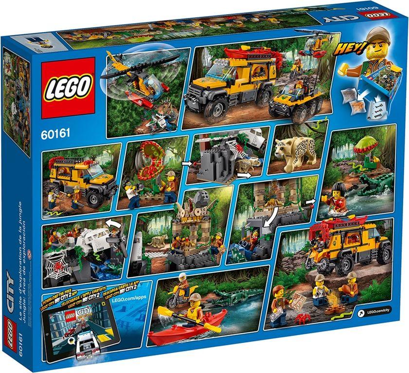 LEGO® City Jungle Exploration Site back of the box