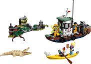 LEGO® Hidden Side Wrecked Shrimp Boat components