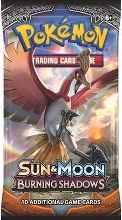 Pokémon TCG: Sun & Moon-Burning Shadows Sleeved Booster Pack box