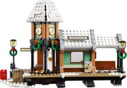 Winter Village Station building