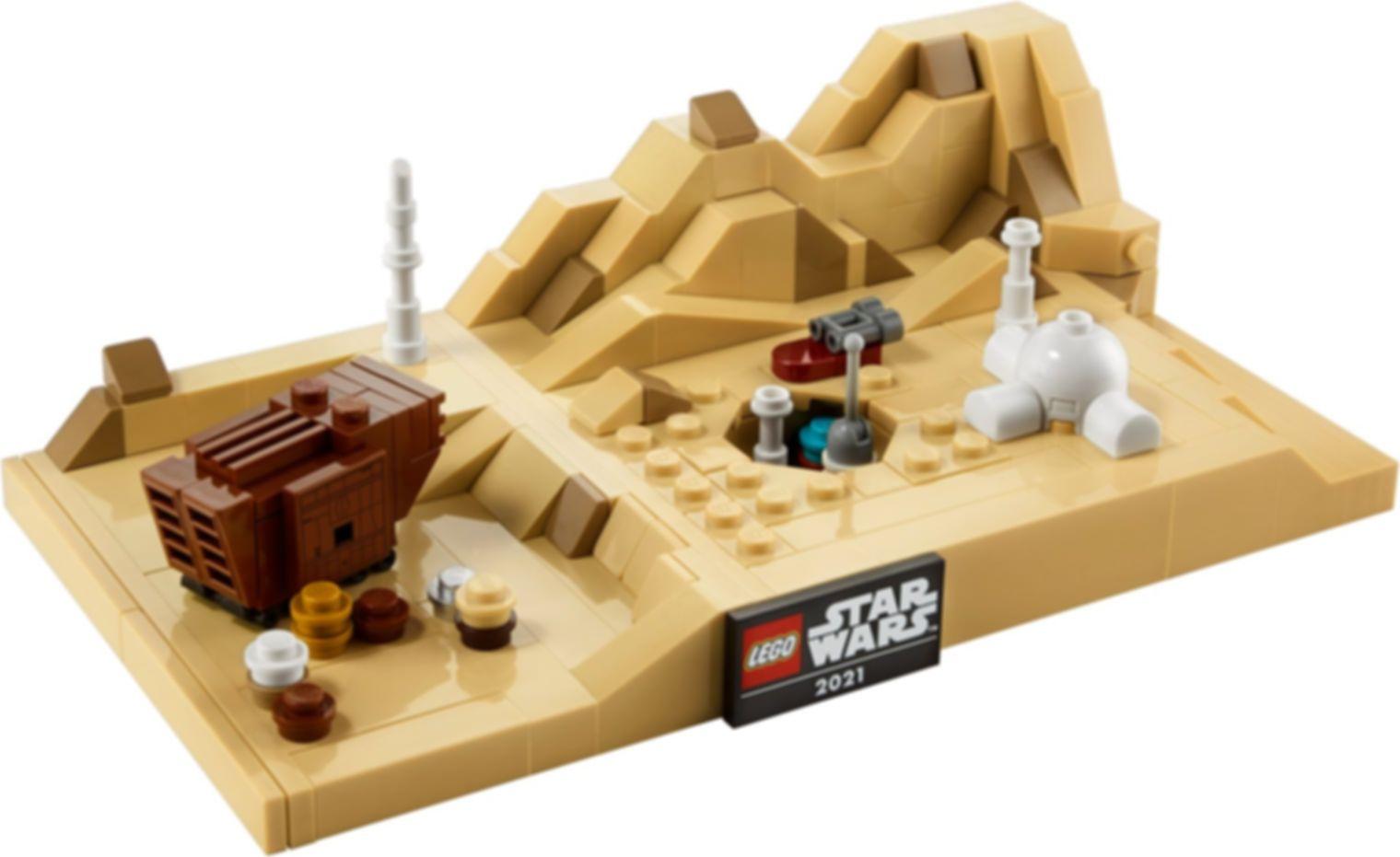LEGO® Star Wars Tatooine Homestead components