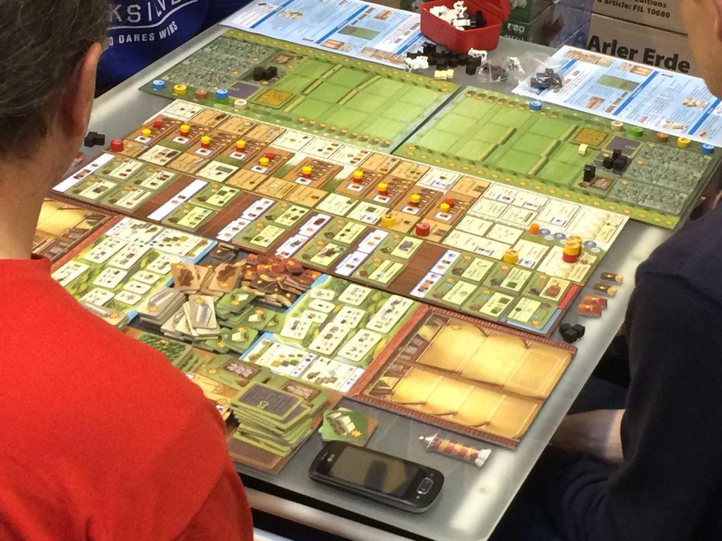 Fields of Arle gameplay