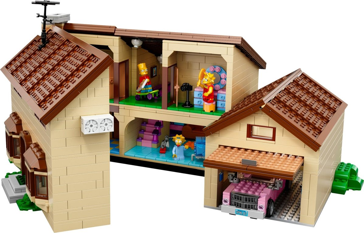 LEGO® The Simpsons The Simpsons™ House interior