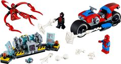 Spider-Man Bike Rescue components