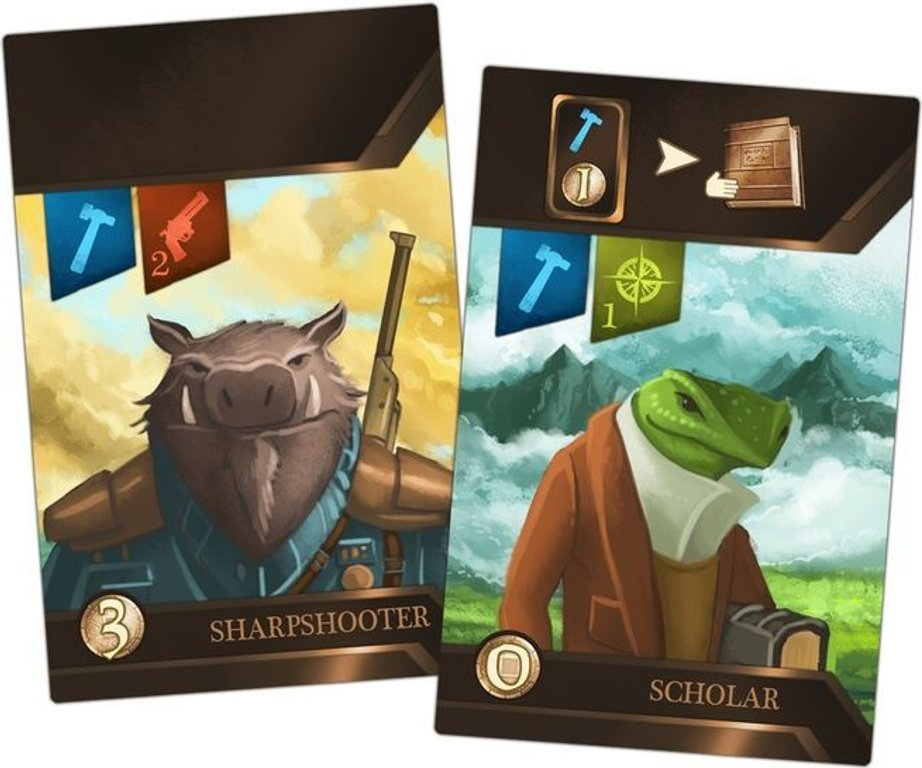 City of Iron: Second Edition cards