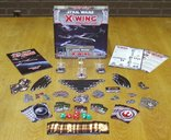 Star Wars: X-Wing Miniatures Game components