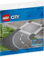 LEGO® City Curve and Crossroad