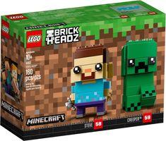 LEGO® BrickHeadz™ Steve & Creeper™
