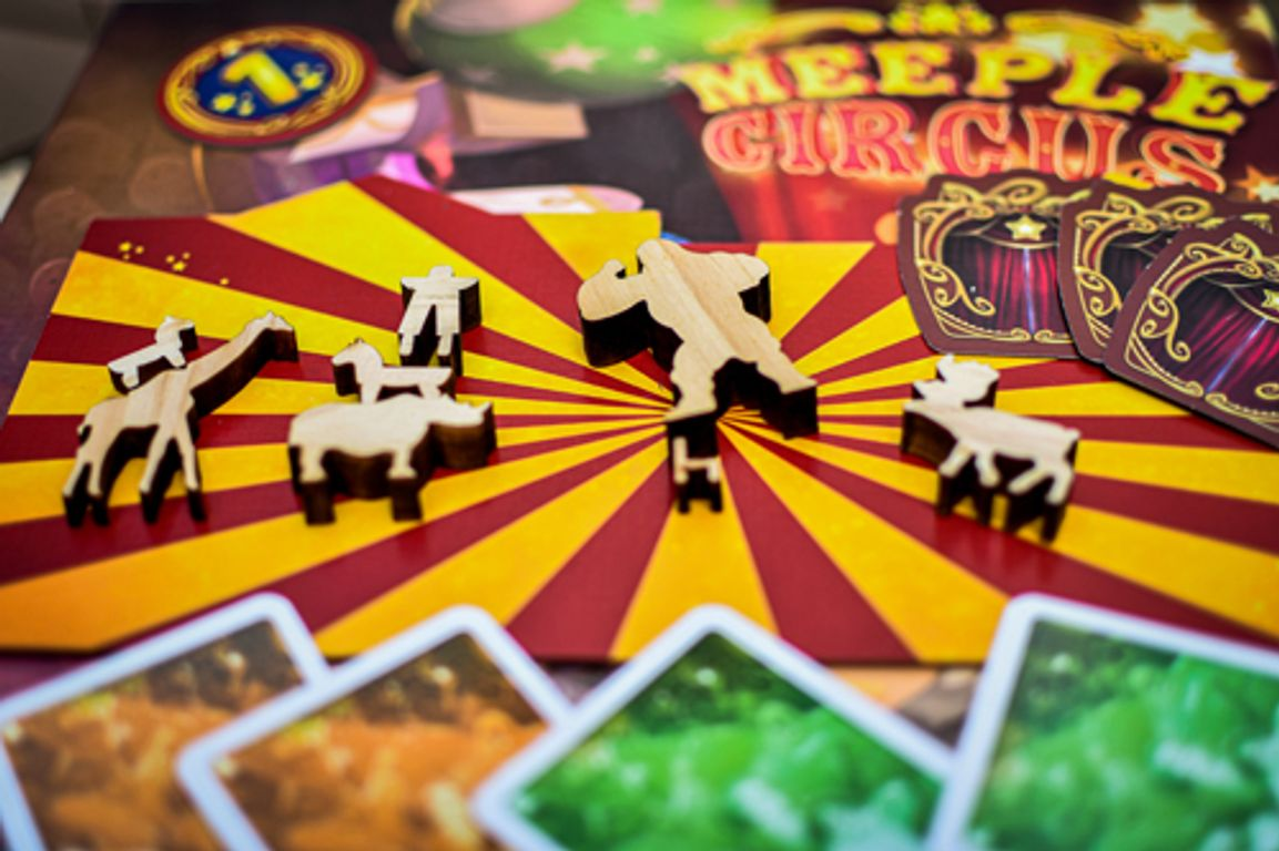 Meeple Circus: Show Must Go On! components