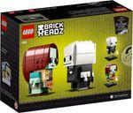 LEGO® BrickHeadz™ Jack Skellington & Sally back of the box