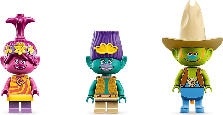 LEGO® Trolls Lonesome Flats Raft Adventure minifigures