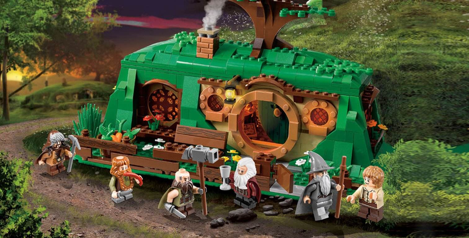 LEGO® The Hobbit An Unexpected Gathering gameplay
