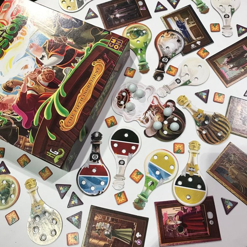 Potion Explosion: The Fifth Ingedient components