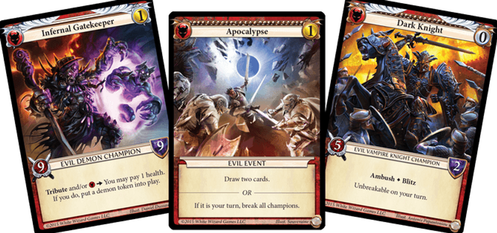 Epic: Card Game cards