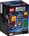 LEGO® BrickHeadz™ Iron Man back of the box