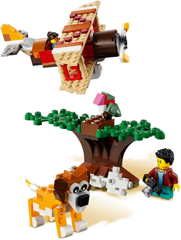 LEGO® Creator Safari Wildlife Tree House alternative