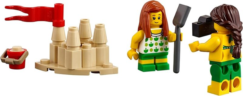 LEGO® City People pack – Fun at the beach components