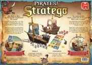 Stratego Pirates! back of the box