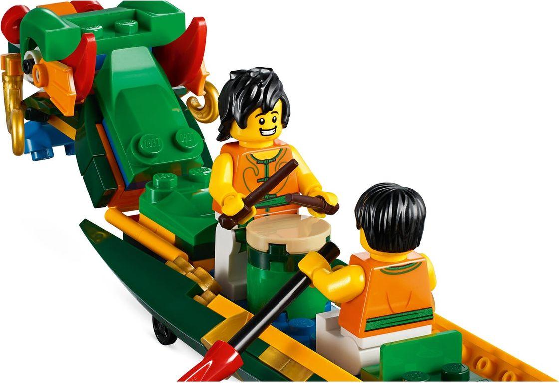 LEGO® Dragon Boat Race minifigures