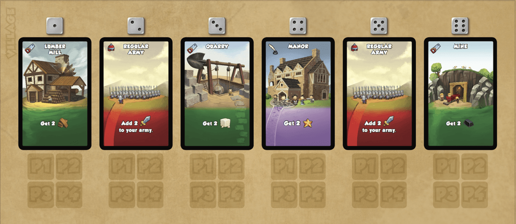 Dice City: By Royal Decree cards