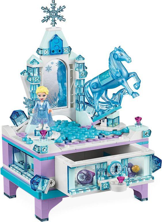 LEGO® Disney Elsa's Jewelry Box Creation components