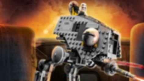 LEGO® Star Wars AT-DP gameplay