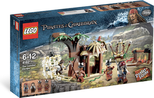 LEGO® Pirates of the Caribbean The Cannibal Escape