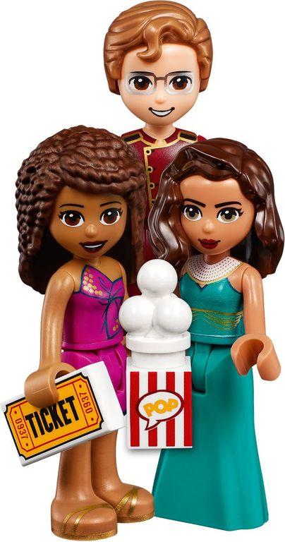 Heartlake City Movie Theater minifigures
