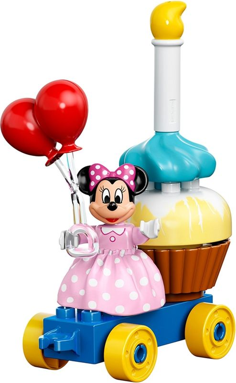 Mickey & Minnie Birthday Parade components