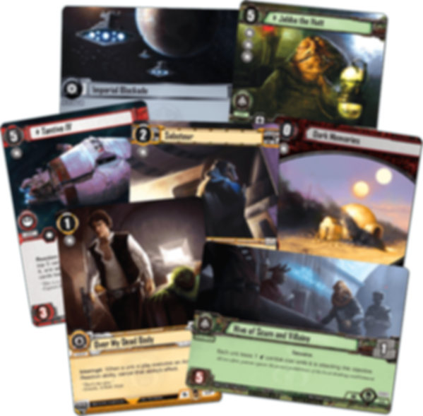 Star Wars: The Card Game - Edge of Darkness cards