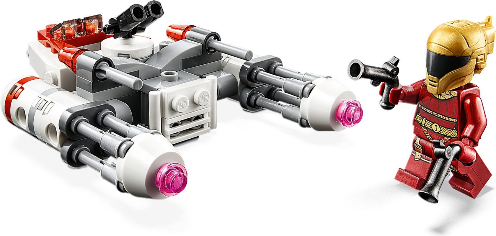 Resistance Y-wing™ Microfighter components