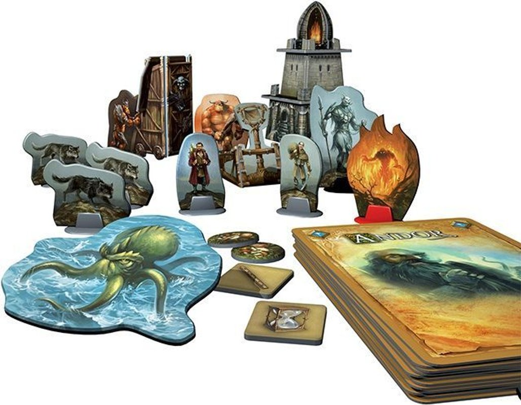 Legends of Andor: The Star Shield components