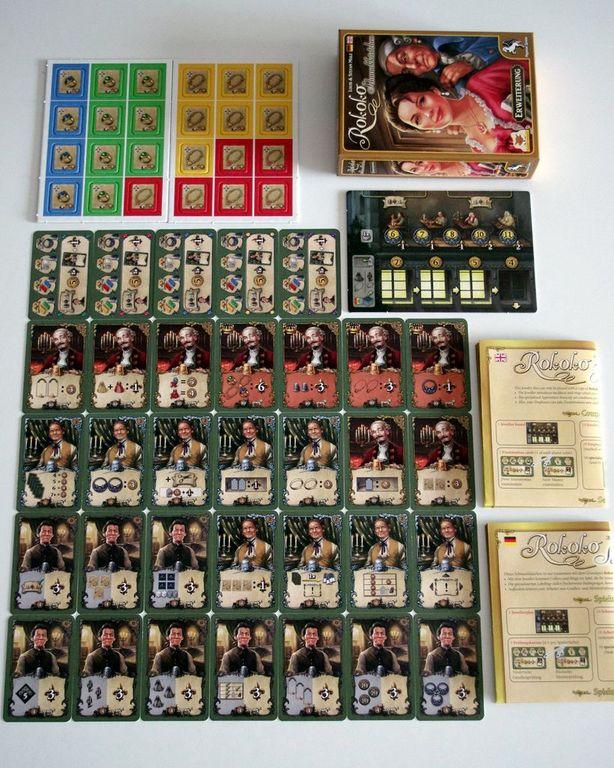 Rococo: Jewelry Box components