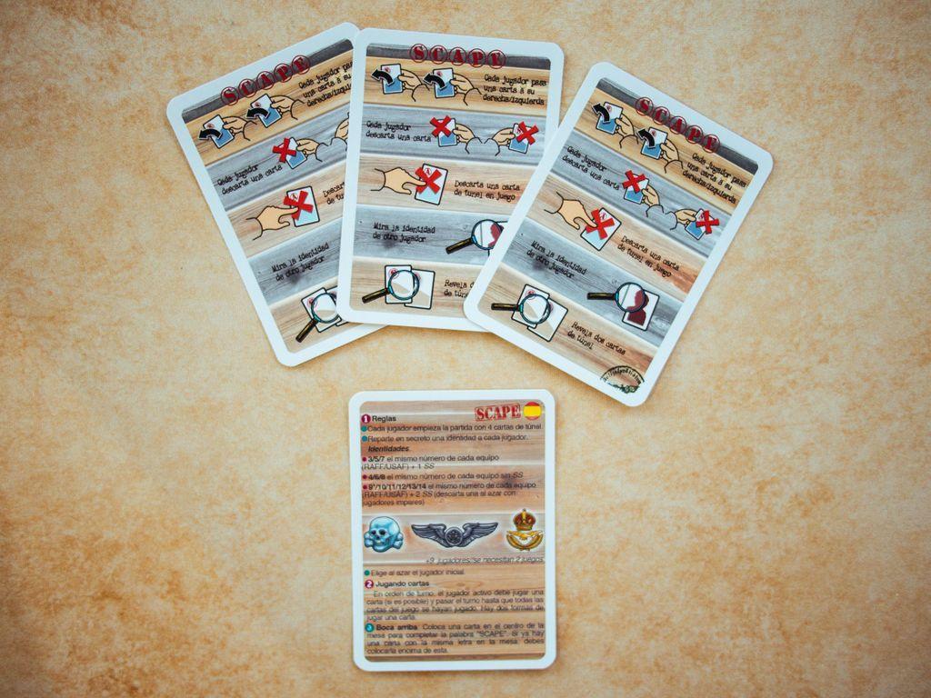 SCAPE cartes
