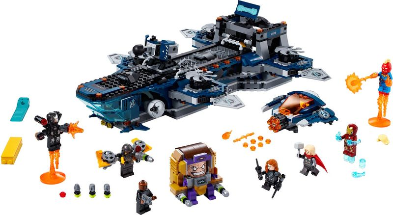 Avengers Helicarrier components