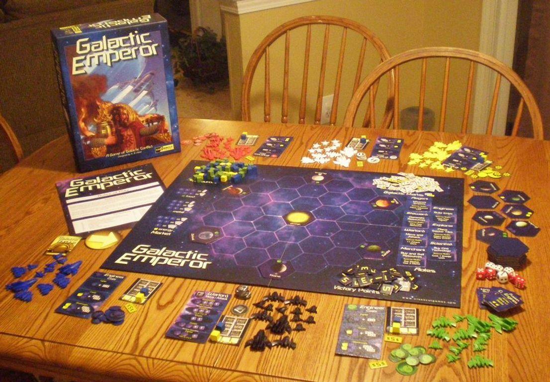 Galactic Emperor components