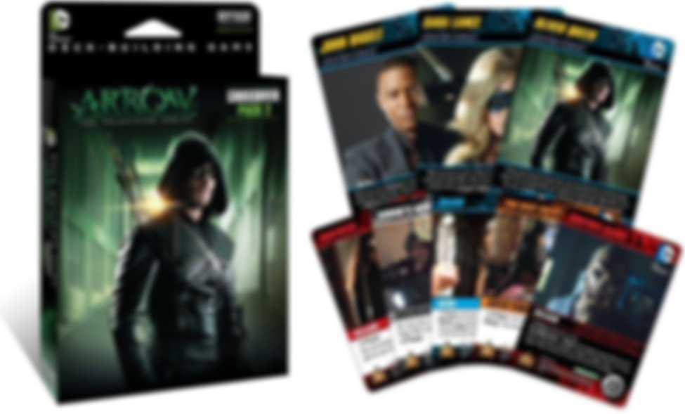 DC Comics Deck-Building Game: Crossover Pack 2 - Arrow cards