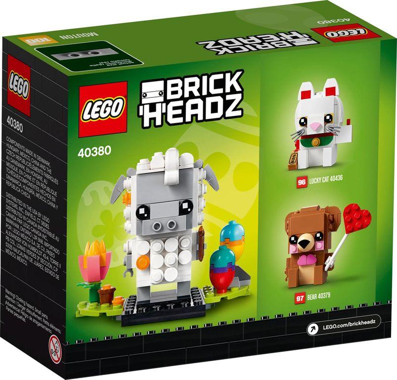 LEGO® BrickHeadz™ Easter Sheep back of the box