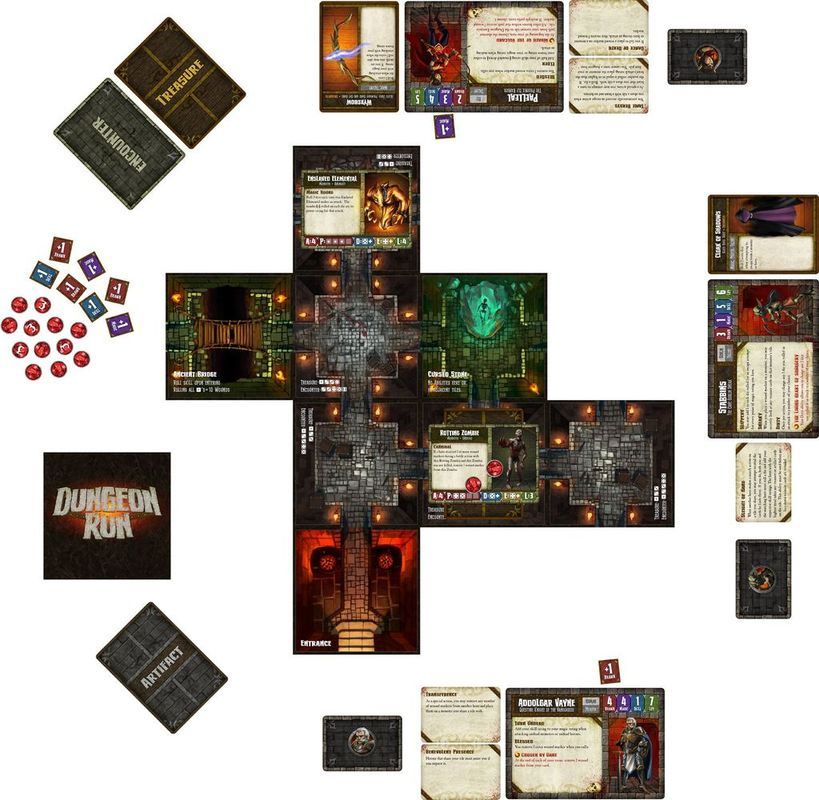 Dungeon Run components