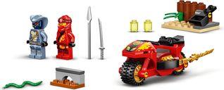 LEGO® Ninjago Kai's Blade Cycle components