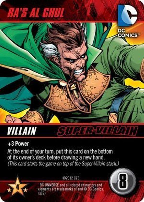DC Comics Deck-Building Game Ra's Al ghul card