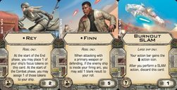 Star Wars: X-Wing Miniatures Game - Heroes of the Resistance Expansion Pack cards