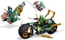 LEGO® Ninjago Lloyd's Jungle Chopper Bike gameplay