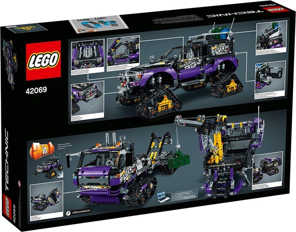 LEGO® Technic Extreme Adventure back of the box