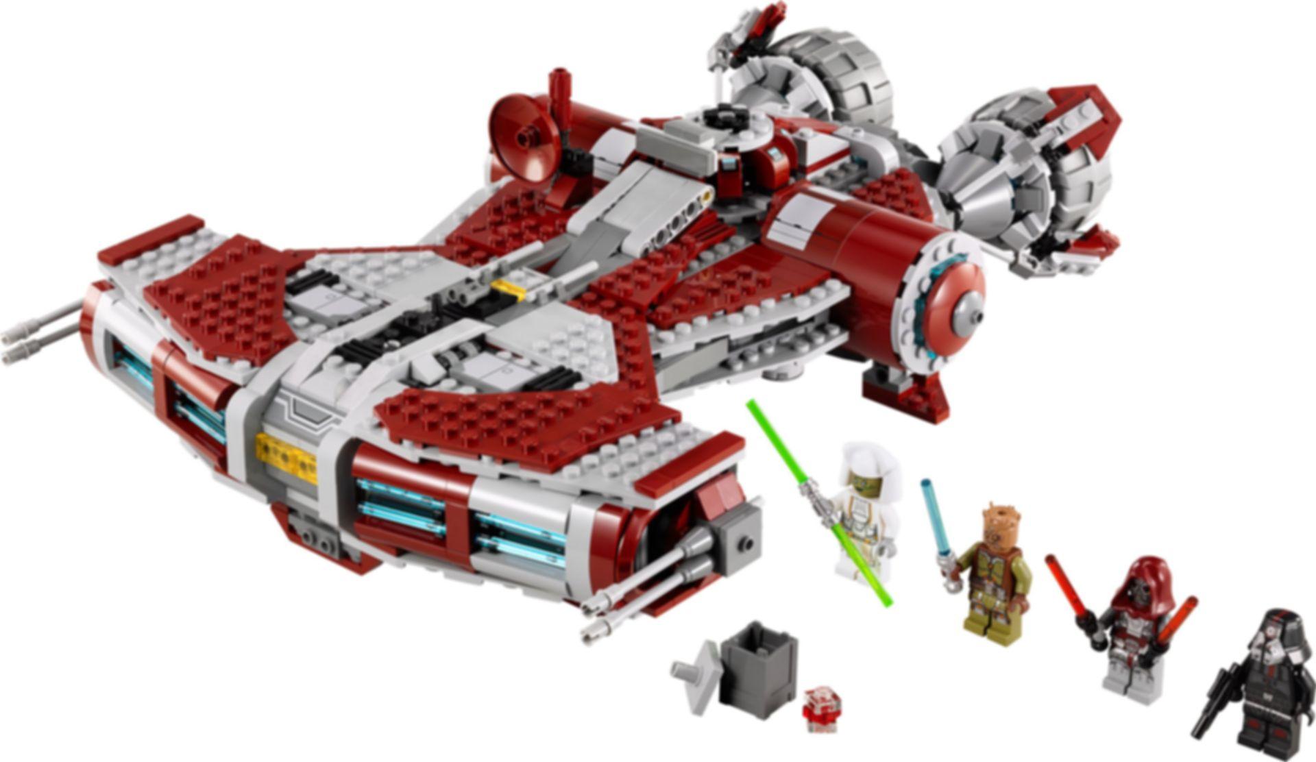 LEGO® Star Wars Jedi Defender-class Cruiser components